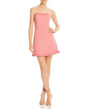 f4e4efbdaf83 FRENCH CONNECTION - Ruffle-Trim Sweetheart Dress ...