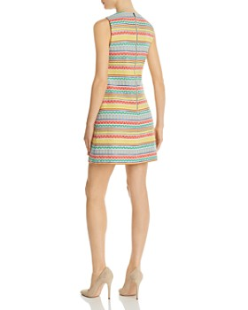 Alice and Olivia - Coley Embroidered A-Line Dress