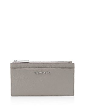 MICHAEL Michael Kors - Money Pieces Large Slim Leather Card Case