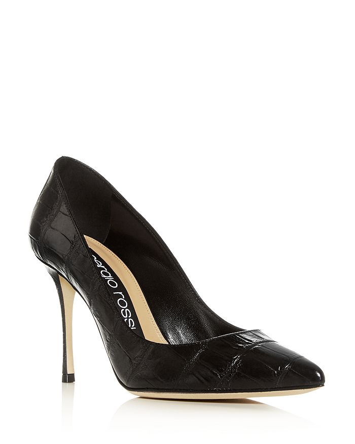 Sergio Rossi - Women's Godiva Pointed-Toe Pumps