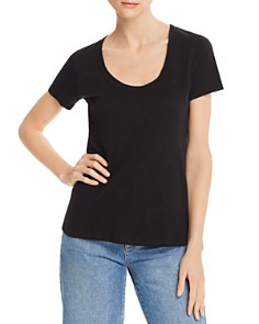 Theory - Easy Scoop-Neck Tee