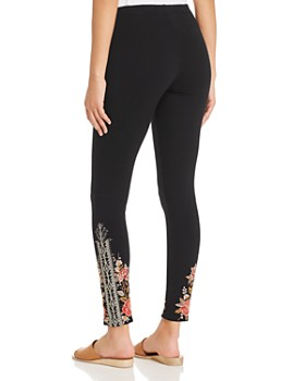 Johnny Was - Paola Embroidered Leggings - 100% Exclusive