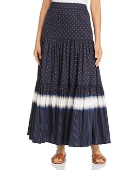 Tory Burch - Printed Maxi Skirt