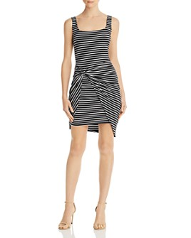 GUESS - Donella Gathered Striped Dress