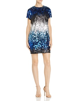 Aidan by Aidan Mattox - Ombré Sequin Dress