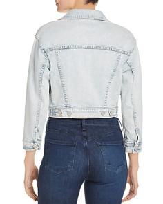 MOTHER - The Big Shorty Cropped Denim Jacket