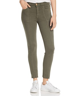 7 For All Mankind - Roxanne Ankle Skinny Jeans in Fatigue - 100% Exclusive