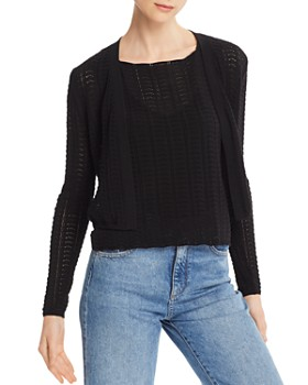 Theory - Crochet Lace Cardigan