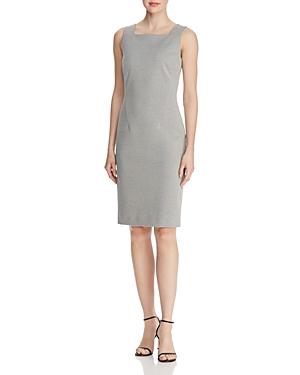 Boss Davenara Sleeveless Houndstooth Sheath Dress - 100% Exclusive