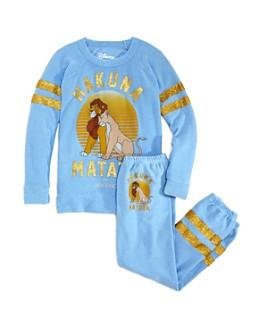CHASER - Girls' Hakuna Matata Sweatshirt & Sweatpants, Little Kid, Big Kid - 100% Exclusive