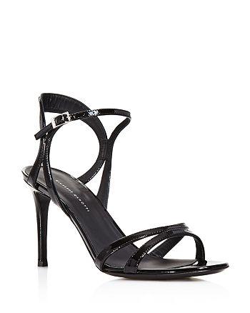 Giuseppe Zanotti - Women's Patent Leather High-Heel Strappy Sandals