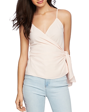 1.state Faux-Wrap Camisole Top