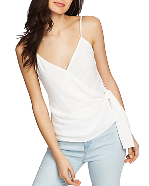 1.state Tops FAUX-WRAP CAMISOLE TOP