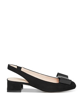 kate spade new york - Women's Sierra Chunky-Heeled Slingback Pumps