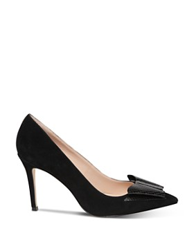 kate spade new york - Women's Vanna Embossed Bow Pumps