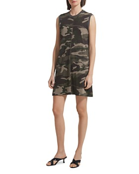ATM Anthony Thomas Melillo - Slub Jersey Camo Tank Dress