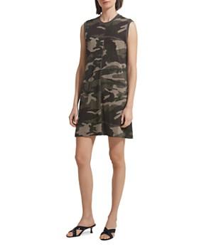 ATM Anthony Thomas Melillo - Slub Jersey Camo Tank Dress