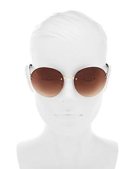 1d4d0a497639 ... 61mm Prada - Women's Oversized Rimless Round Sunglasses, ...