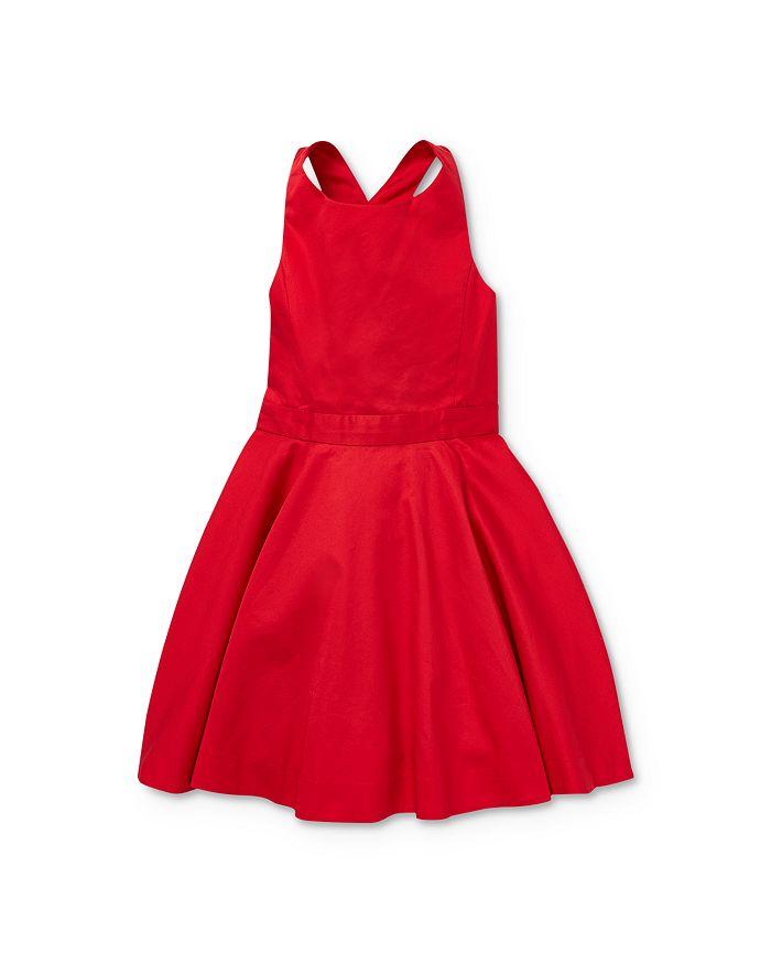 Ralph Lauren - Girls' Cross-Back Dress - Little Kid