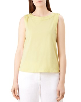 HOBBS LONDON - Maddy Button Detail Top