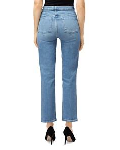 J Brand - Jules High-Rise Straight Leg Jeans in Marcella