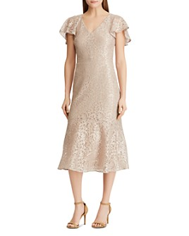 Ralph Lauren - Lace Cocktail Dress