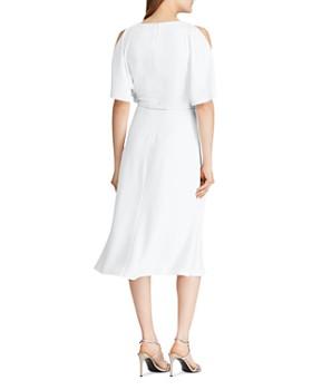 Ralph Lauren - Split-Sleeve Belted Dress
