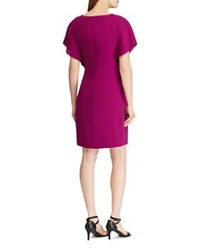 Ralph Lauren - Ruffled-Overlay Dress