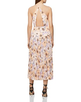 246be774285 REISS - Corinne Pleated Floral Dress REISS - Corinne Pleated Floral Dress