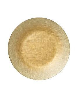 VIETRI - Glitter Glass Service Plate/Charger