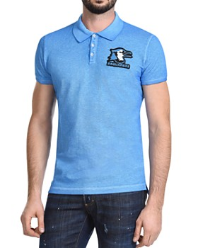 DSQUARED2 - Bird Logo-Patch Slim Fit Polo Shirt