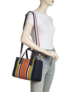 kate spade new york - Kitt Medium Striped Satchel