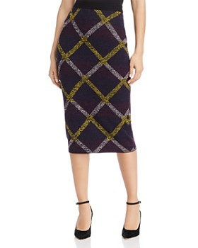 Escada Sport - Rouda Diamond Knit Pencil Skirt