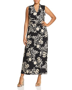 VINCE CAMUTO Plus - Floral Getaway Maxi Dress