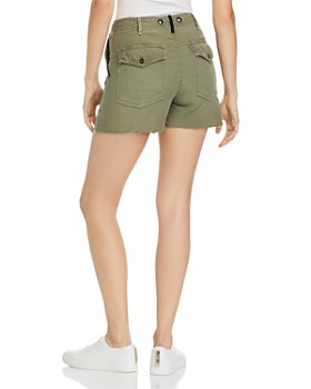 rag & bone/JEAN - Super High-Rise Utility Shorts