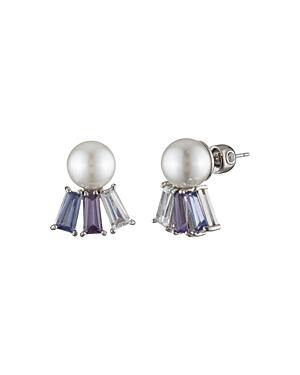 Carolee Stone Dangle Earrings