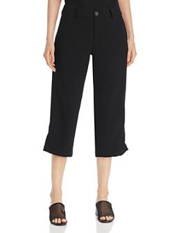 SNIDER - Nice Cropped Drawstring-Hem Pants