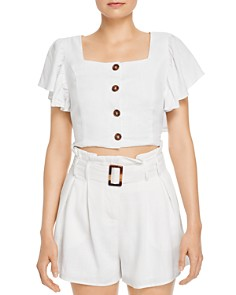 Charlie Holiday - Charlie Holiday Cropped Top & High-Waisted Shorts