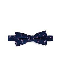 Michael Kors - Boys' Flamingos Silk Bow Tie
