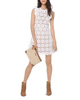 5dd21504aa40 MICHAEL Michael Kors - Medallion Lace Mini Dress ...