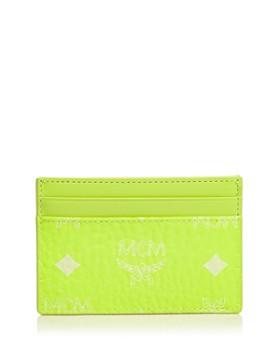 MCM - Visetos Mini Neon Card Case
