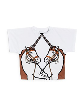 Burberry - Girls' Double Unicorn Tee - Little Kid, Big Kid