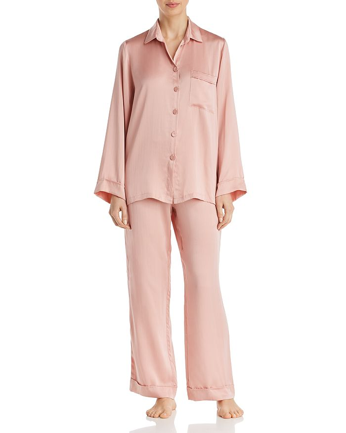 609f6e968 Papinelle Silk Pajama Set   Bloomingdale's