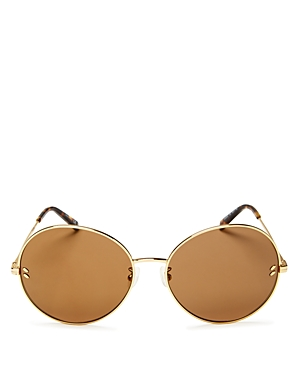 Stella McCartney Women's Mirrored Round Sunglasses, 62mm