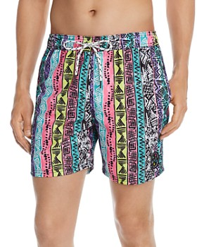 Maui and Sons - Recall Printed Swim Trunks