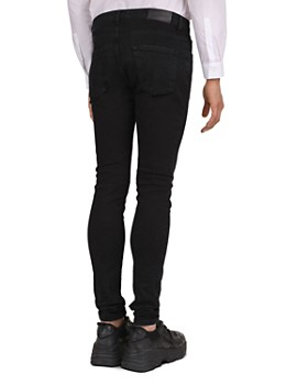 The Kooples - Skinny Jeans in Black Washed
