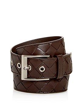 Bottega Veneta - Men's Woven Leather Belt