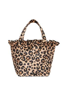 Loeffler Randall - Claire Nylon Leopard Tote