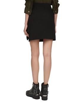 The Kooples - Marta Draped Crepe Mini Skirt