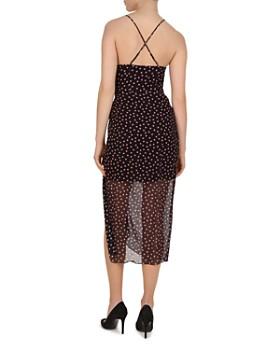 bc1bc11cf28 ... The Kooples - Polka Dot Silk Midi Dress